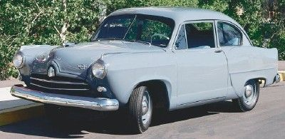 Allstate.  This brand was made by Sears and Roebuck (yes, the department store) in 1952, and 1953.  It was designed to be a budget car that only cost (I think) around $ 1,200 new. They didn't sell well, mainly due to concerns over service, warranty repairs, etc. History has all but forgotten this little car.
