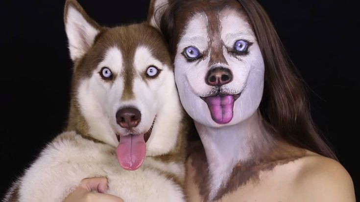 Ilana Kolihanov, an extremely talented makeup artist in Israel, demonstrates how to create a realistic Siberian Husky face, using her own dog as a template. Ilana has also offered tutorials on crea…