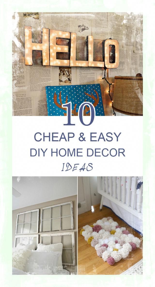 We Love Cheap Diy Projects For Your Home Tips Home Diy Diy Home Decor Home