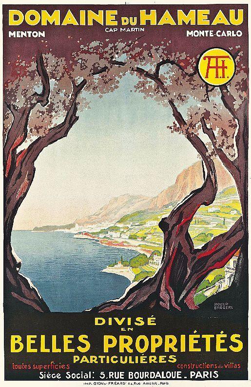 Vintage TP by Roger Broders: Domaine du Hameau