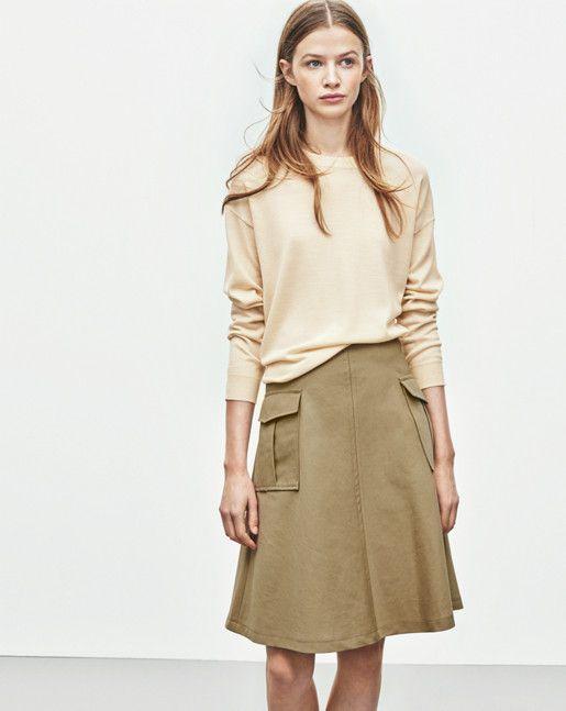 Cotton Linen Pocket Skirt - Filippa K