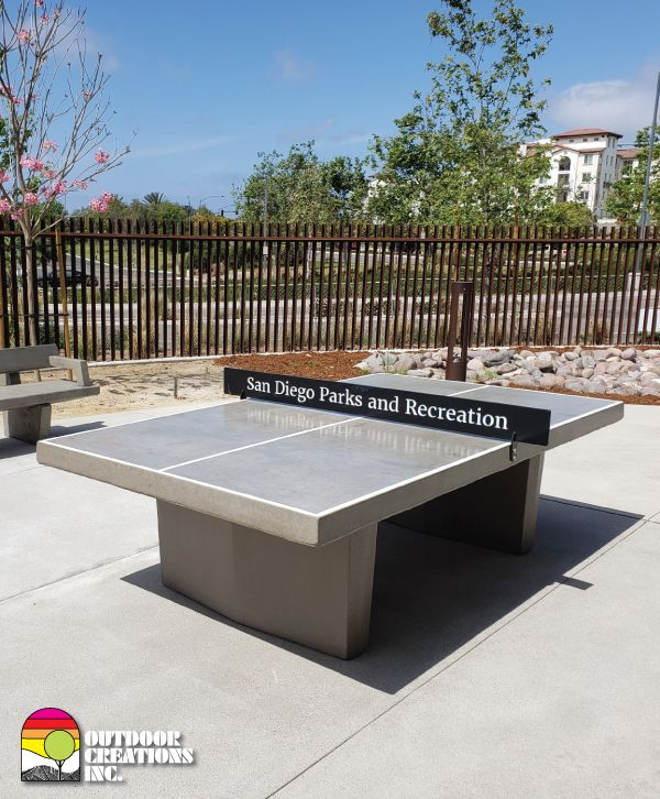 Concrete Table Tennis Concrete Table Ping Pong Table Outdoor Ping Pong Table