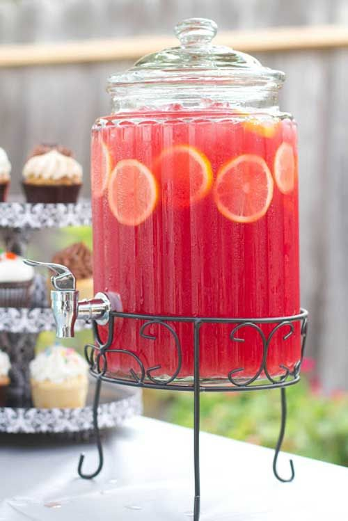 We made the best juice mixture I've ever tasted. Hands down. A perfectly refreshing non-alcoholic beverage that was sweet and sparkly with just the amount of tart to give it that little kick. Delic…