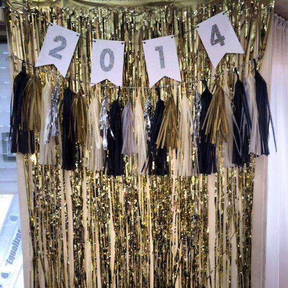 Mylar Fringe Backdrop  30x72 by ProjectPaper on Etsy, $7.00