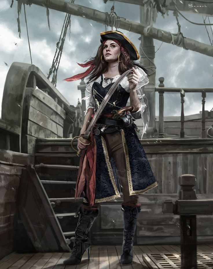 пиратка в картинках