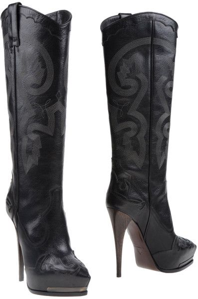 High heeled Boots - Lanvin