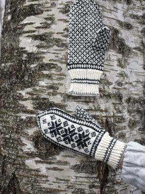 Perinteiset kirjoneulelapaset Novita Nalle   Novita knits