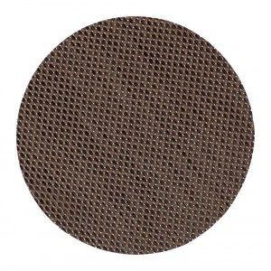 Tablett Sture rund brun