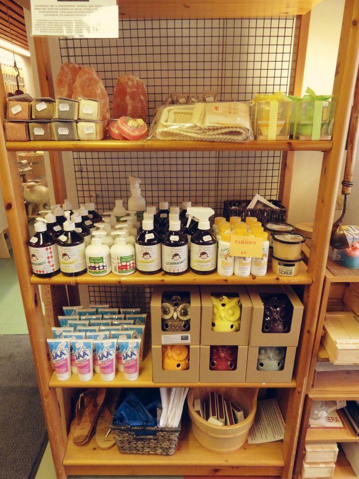 Sauna goods. For more information: www.saunalahja.fi