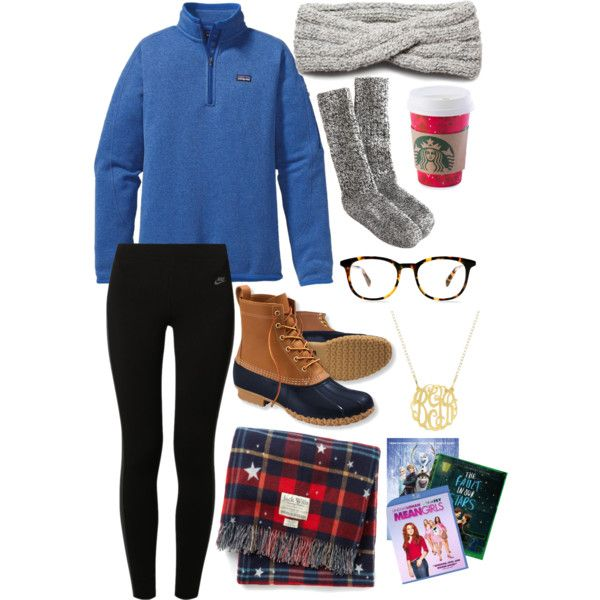 A fashion look from December 2014 featuring Patagonia tops, NIKE leggings and J.Crew socks. Browse and shop related looks.