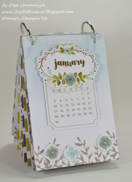 Calendar Binding Ideas : Paper pumpkin one great year calendar december kit