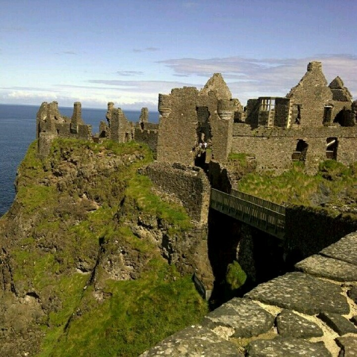 DunluceCastle, North Coast, Northern Ireland