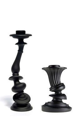 Distorted Candlesticks. Love these for Halloween Decor!