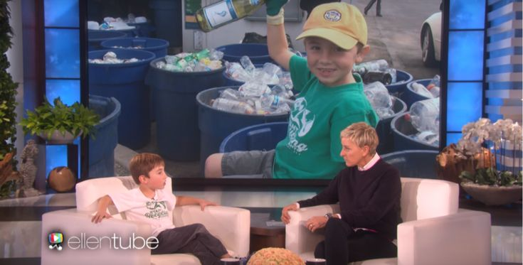 Meet The 7 Year Old Who Started A Recycling Company