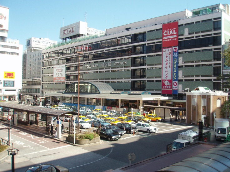 Yokohama station west exit. Under shopping is great at this station.