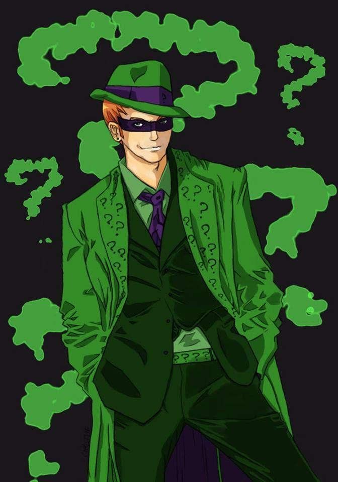 The Riddler Art I M Batman Riddler Im Batman Joker