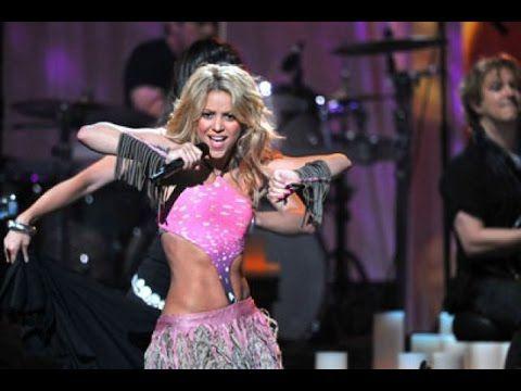 (27) Shakira - Gitana & Waka Waka (Premios Juventud 2010 on Univision) - YouTube