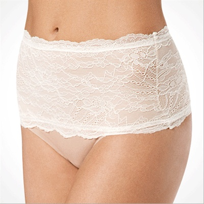 spanx chantilly lace thong, and other bridal undergarments.