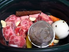 Crock pot Pho Broth! Make it, freeze it, thaw it, and add the noodles and toppings!
