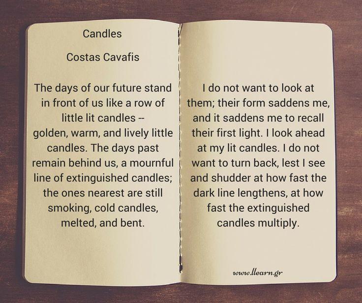 Candles - Costas Cavafis.