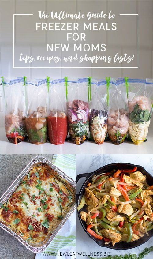 The Ultimate Guide to Freezer Meals for New Moms