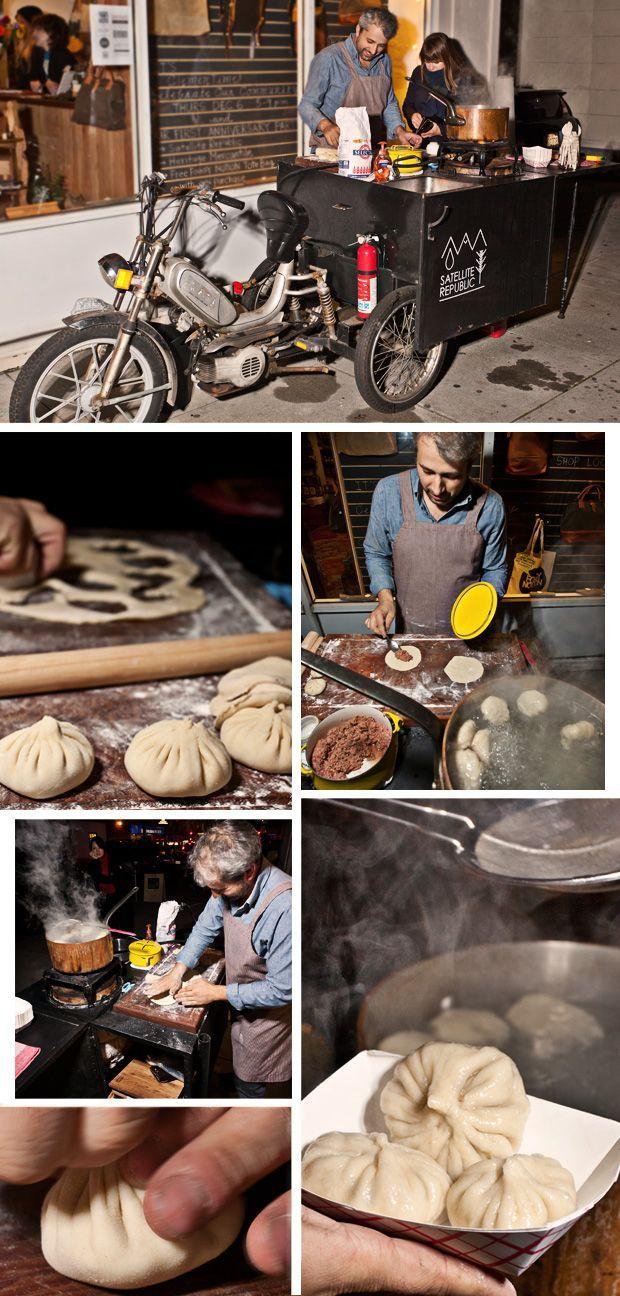 Authentic Satellite Republic: Street-Food Dumplings from Georgia