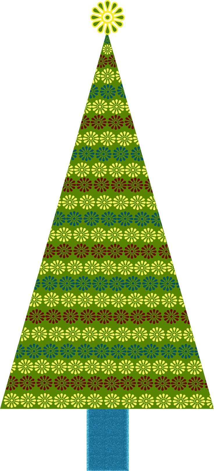 natal rvores e flres christmas treesclip - Christmas Tree Clip