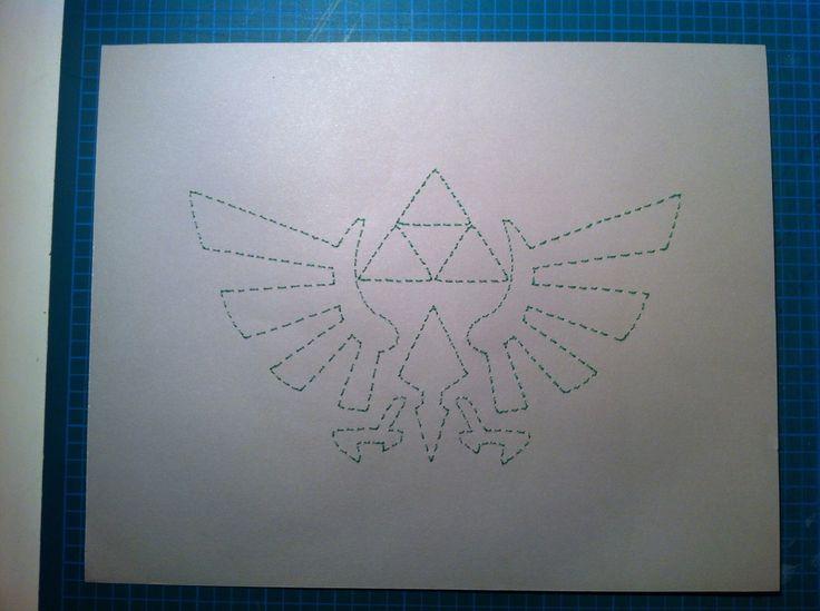 Zelda Stitched Art by JSA. #JaimiesStitchedArt