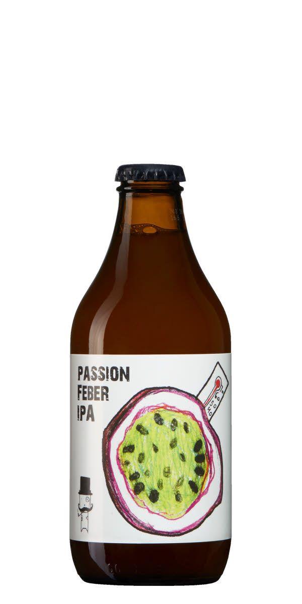 Som namnet antyder har innehåller denna IPA passionsfrukt, och smakar därefter.