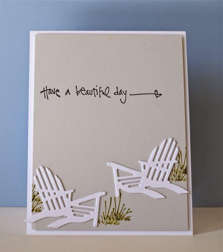 Beach Chair kinda of day! marybethstimeforpaper