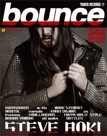 bounce 342号 - スティーヴ・アオキ