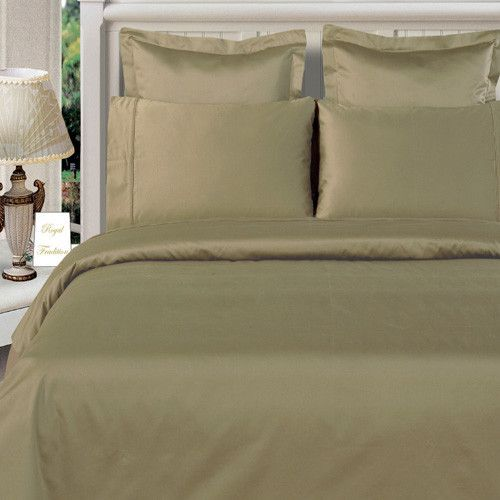 "100% Bamboo Sage-Green Duvet Cover Set ""Silky Super Soft Covers"" $99.99 www.scotts-sales.com"