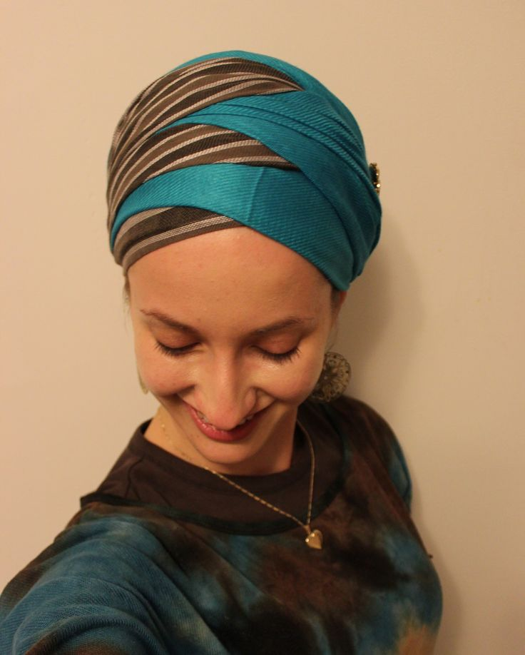 Criss-cross wrap scarf