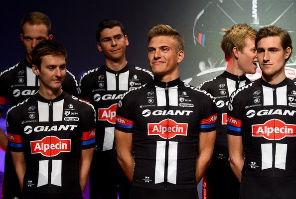 Marcel Kittel Photos Photos - Marcel Kittel of Germany is seen during the teamlaunch of Team GIANT-Alpecin at the Fench Embassy on January 7, 2015 in Berlin, Germany. - Team GIANT Alpecin Team Launch