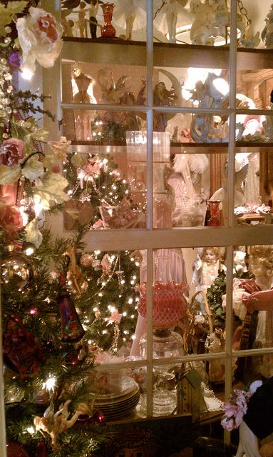 420 best victorian christmas images on pinterest - Navidad shabby chic ...