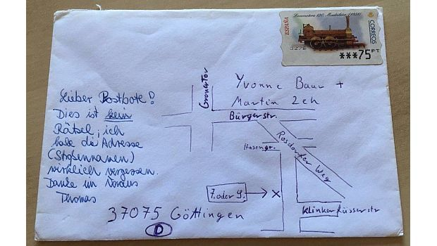 Vergangene Woche sorgte ein Brief nach Island im Internet für Furore: Der…