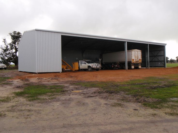 Farm shed for machinery and workshop