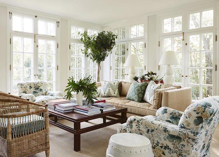 Chintz Decor Trend 1 Living Room Color Schemes Living Room Green Home Decor