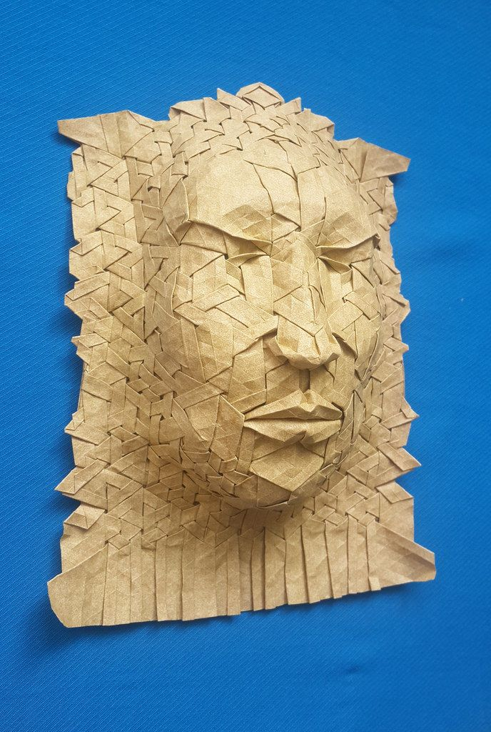 Mask by Joel Cooper. I folded. by Timur Menyalschikov