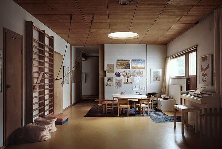 interiors. alvar aalto