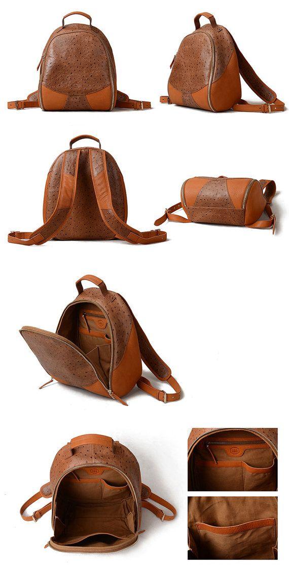 Sac à dos de cuir grand sportif féminin ou masculin en cuir sac à dos marron cuir sac à dos femmes ou hommes - haute qualité et garantie de retours