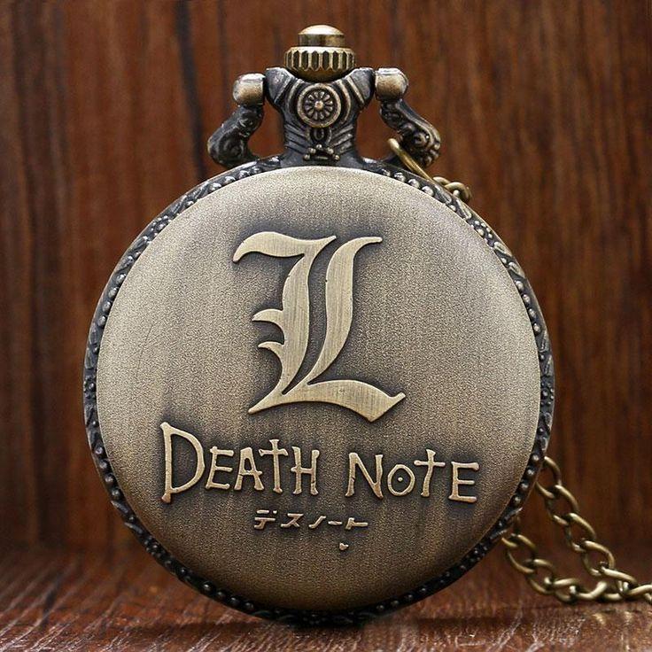 Death Note Quartz Pocket Watch  #anime #animeart #comic #animelover #stuff #merchandise #animeboy