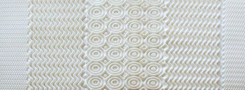 Rio Home Fashions Convoluted Memory Foam King Mattress Topper/Pad, White *** You can find out more details at the link of the image. #MattressToppers