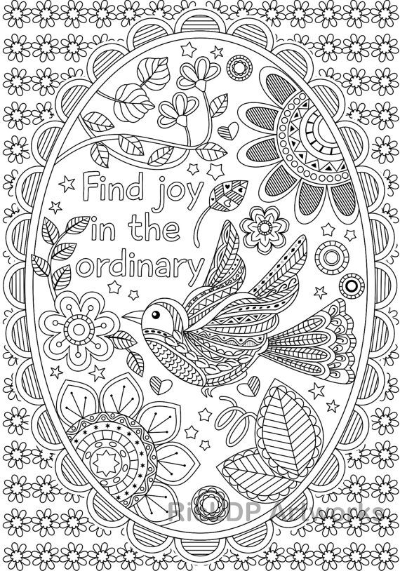 257 best Coloring Posters and Patterns images on Pinterest ...