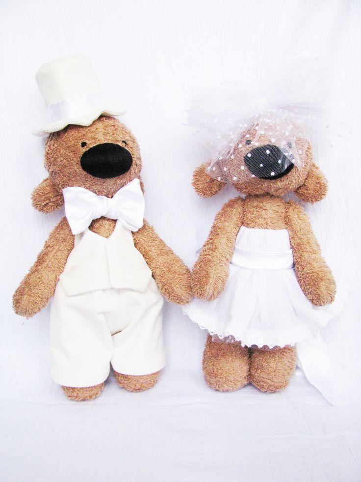 Мишки свадебные
