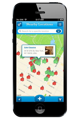 "Sit Or Squat: Restroom Finder No one should underestimate the value of a clean public restroom. Charmin's Sit or Squat app is a database of over 100,000 public bathrooms, so you can find the closest spot to, um, visit the ladies' room. And, those who have used that particular toilet before can rate it as either ""sit"" or ""squat,"" to give future users an idea of how clean any of the particular W.C.s are."