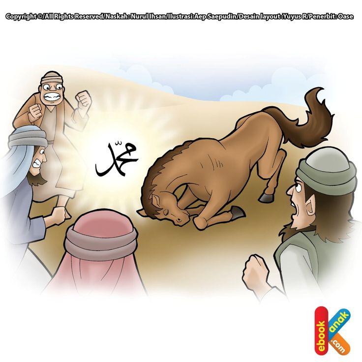 Dua Kuda Liar Bersujud pada Rasul Saw