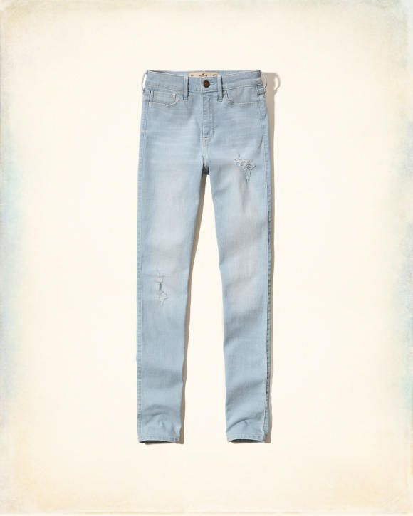 Hollister High-Rise Super Skinny Jeans Online Exclusive