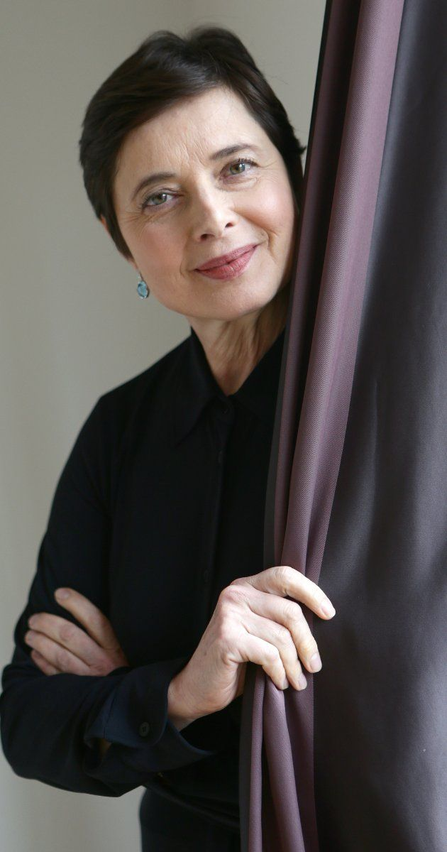 Isabella Rossellini. She is incredibly thoughtful and smart. What a woman should be.