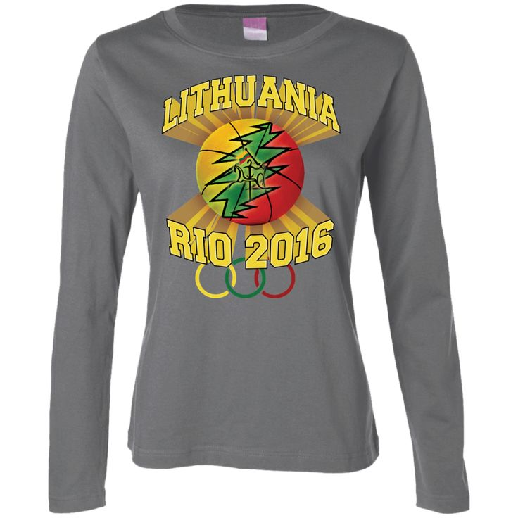 **Rio Olympic Basketball** -- Gals Long Sleeve